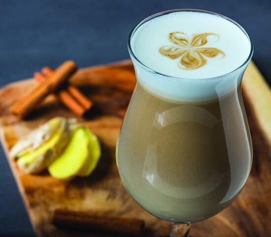 ghimbir latte